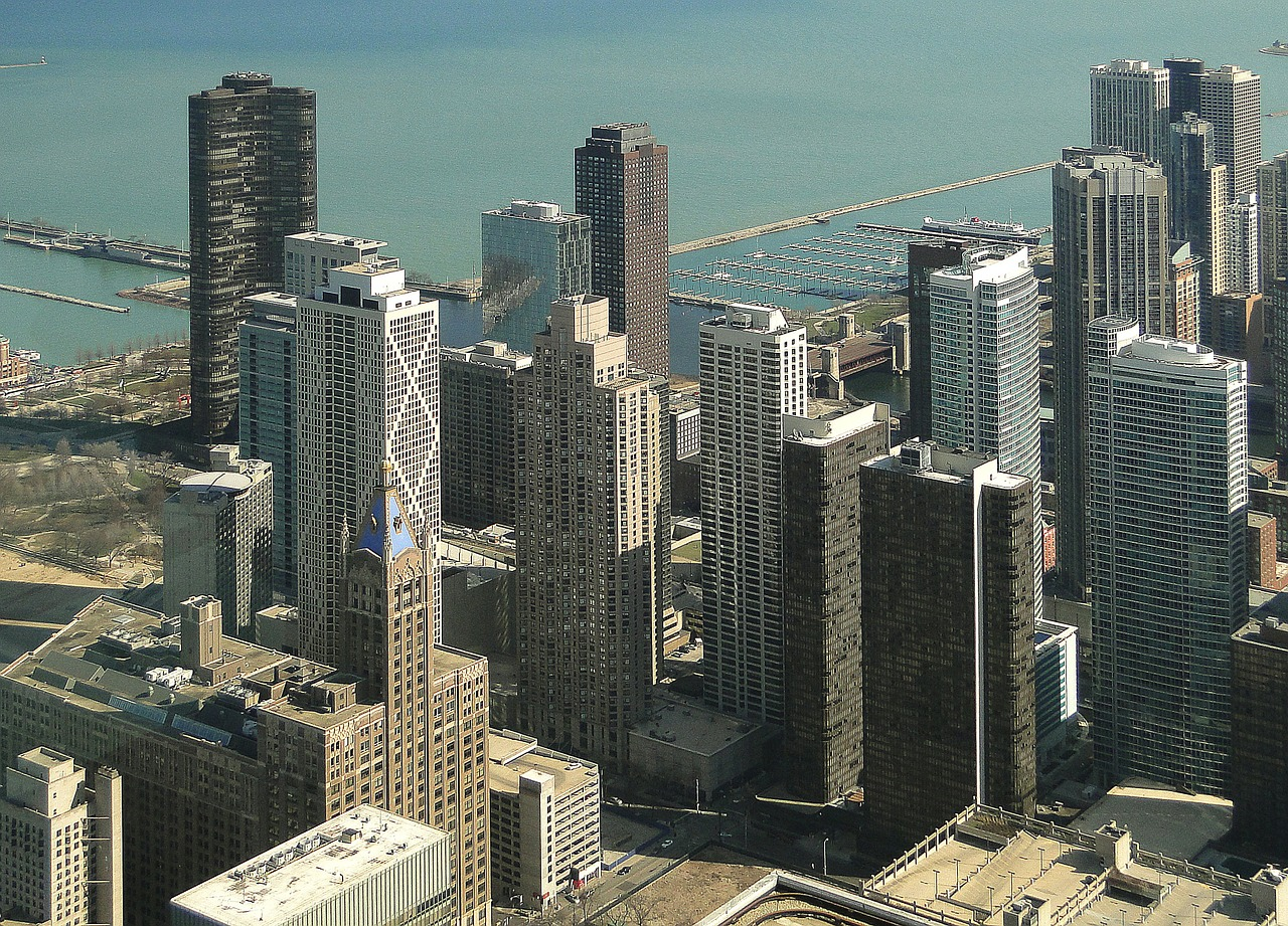 Chicago view from above